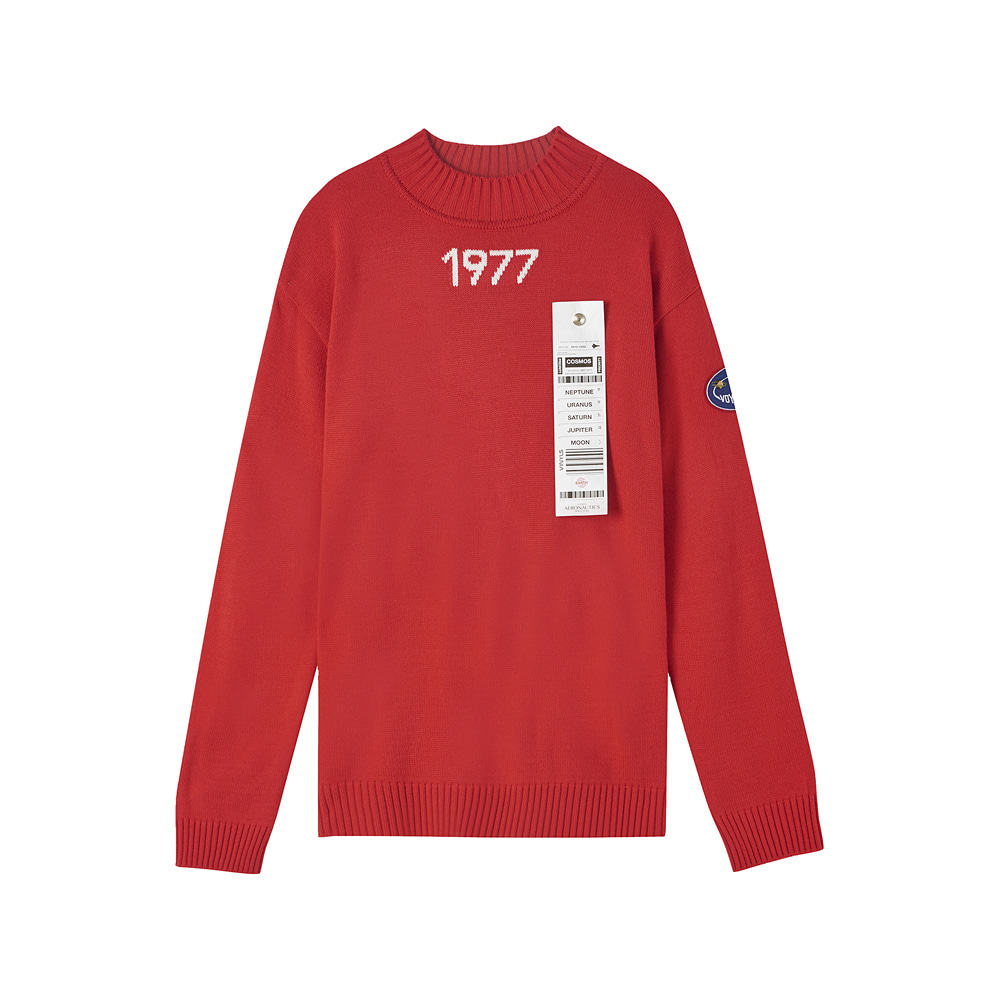[AW17 ISA] Voyager Knit(Red) STEREO-SHOP