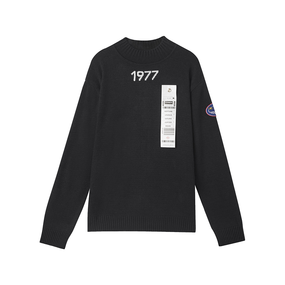 [AW17 ISA] Voyager Knit(Black) STEREO-SHOP