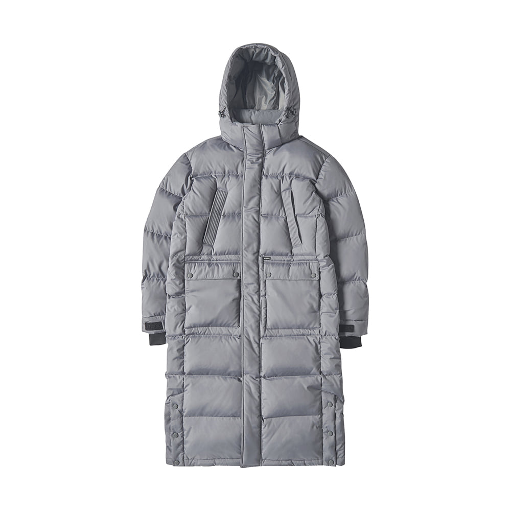 [AW17] Bench Long Down Parka(Grey) STEREO-SHOP