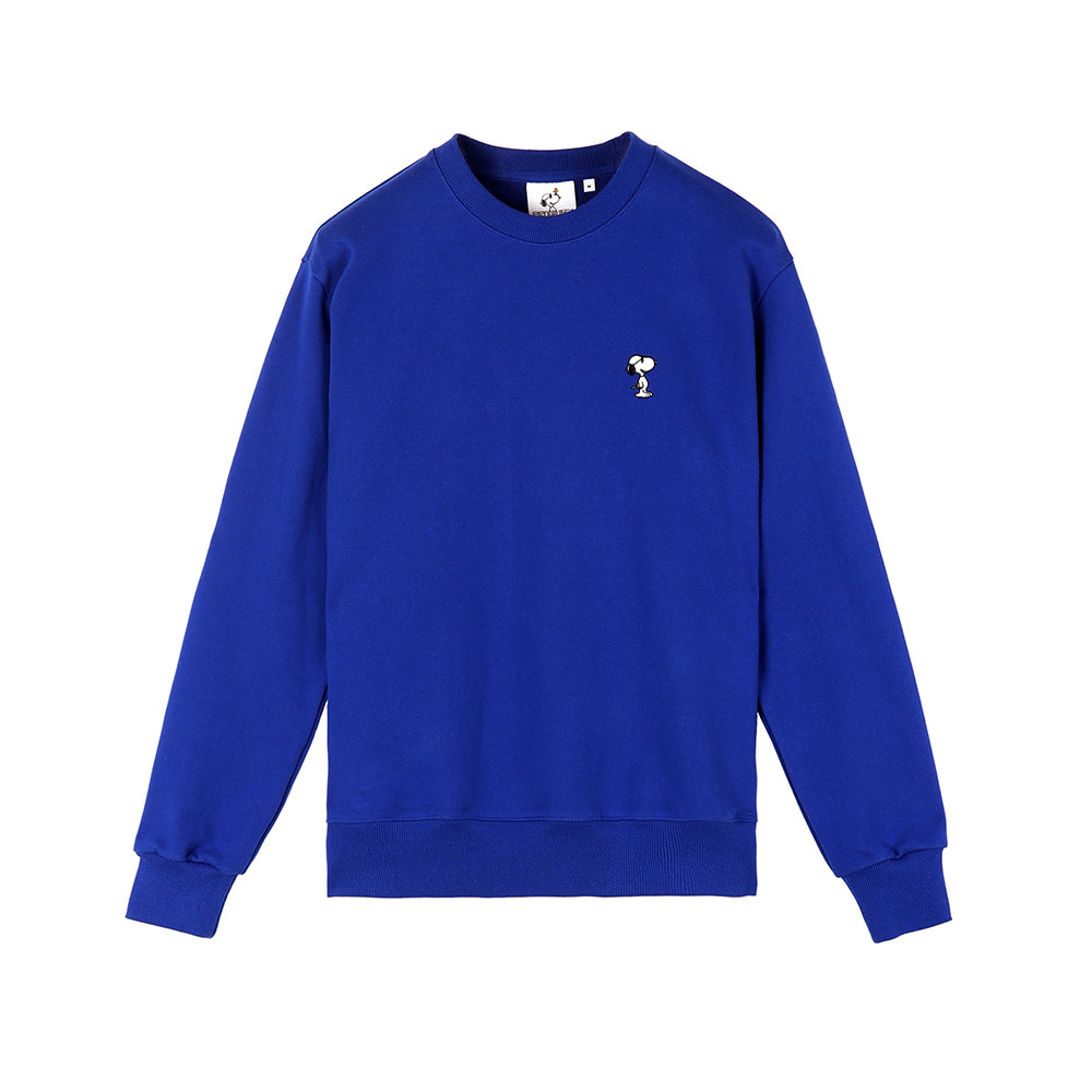 [SS18 Peanuts] Snoopy Sweatshirts(Royal Blue) STEREO-SHOP