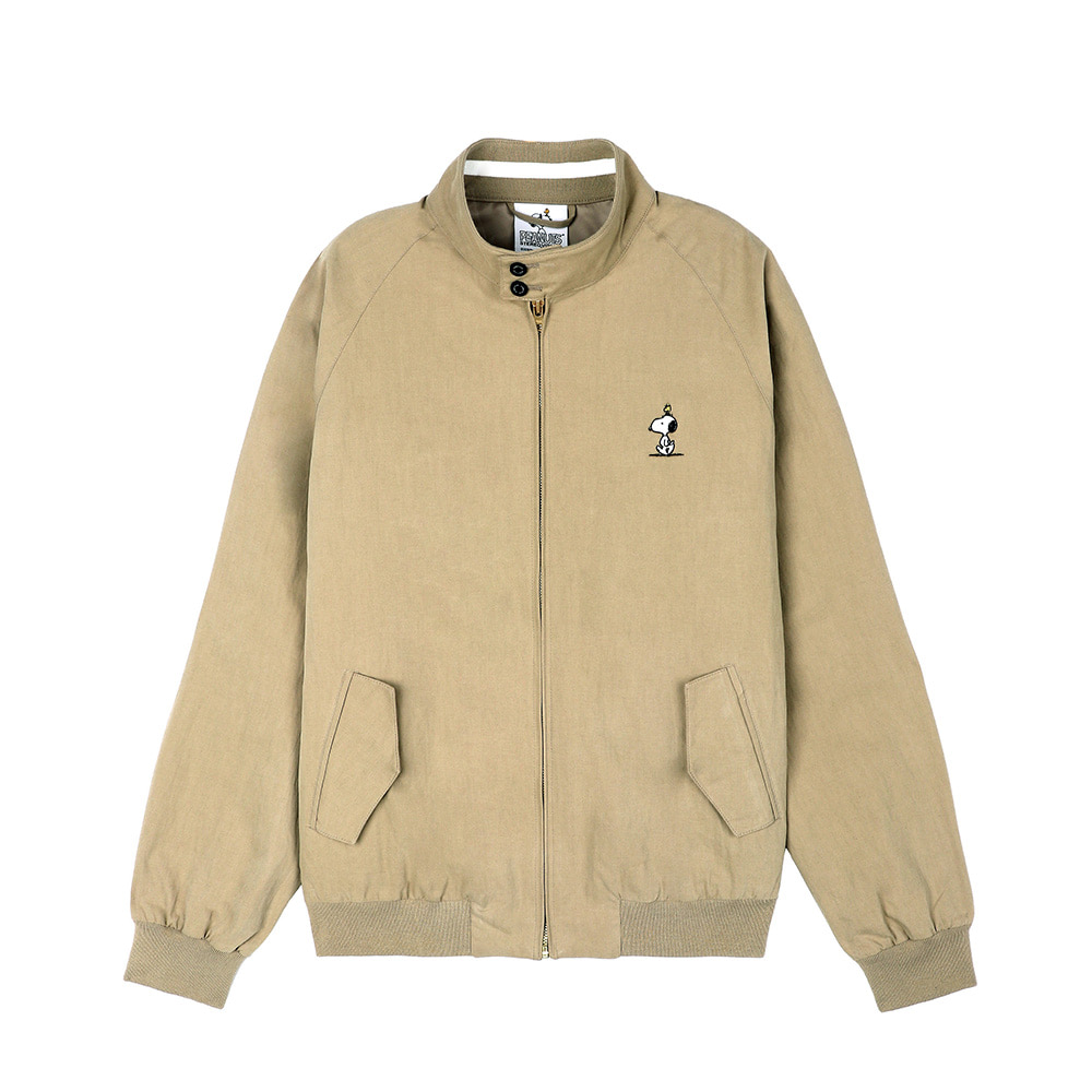 [SS18 Peanuts] Harrington Jacket(Beige) STEREO-SHOP