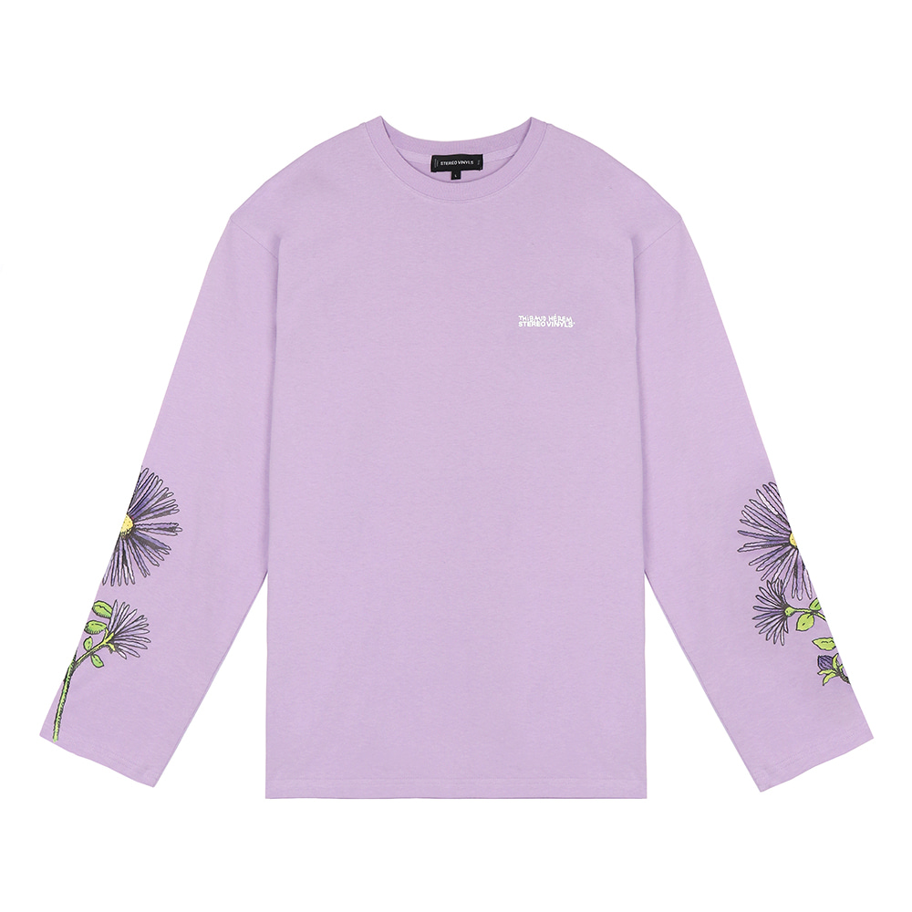 [SS18 Thibaud] Wild Aster Long Sleeve(Lavender) STEREO-SHOP