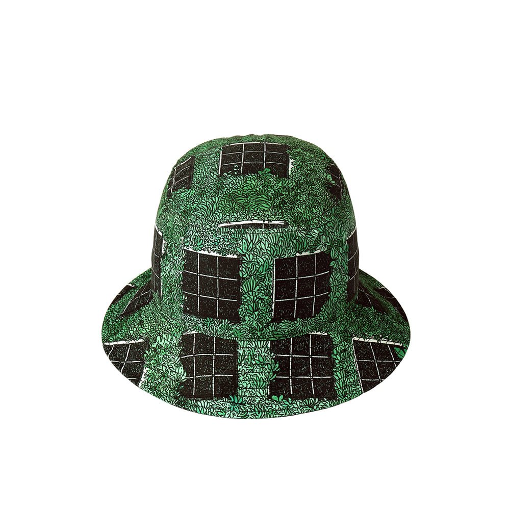 [SS18 Thibaud] Gongan Bucket Hat(Green) STEREO-SHOP