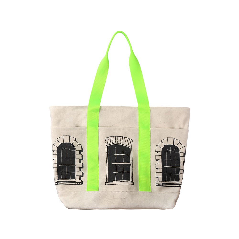 [SS18 Thibaud] Dean Street Tote Bag(Ivory) STEREO-SHOP