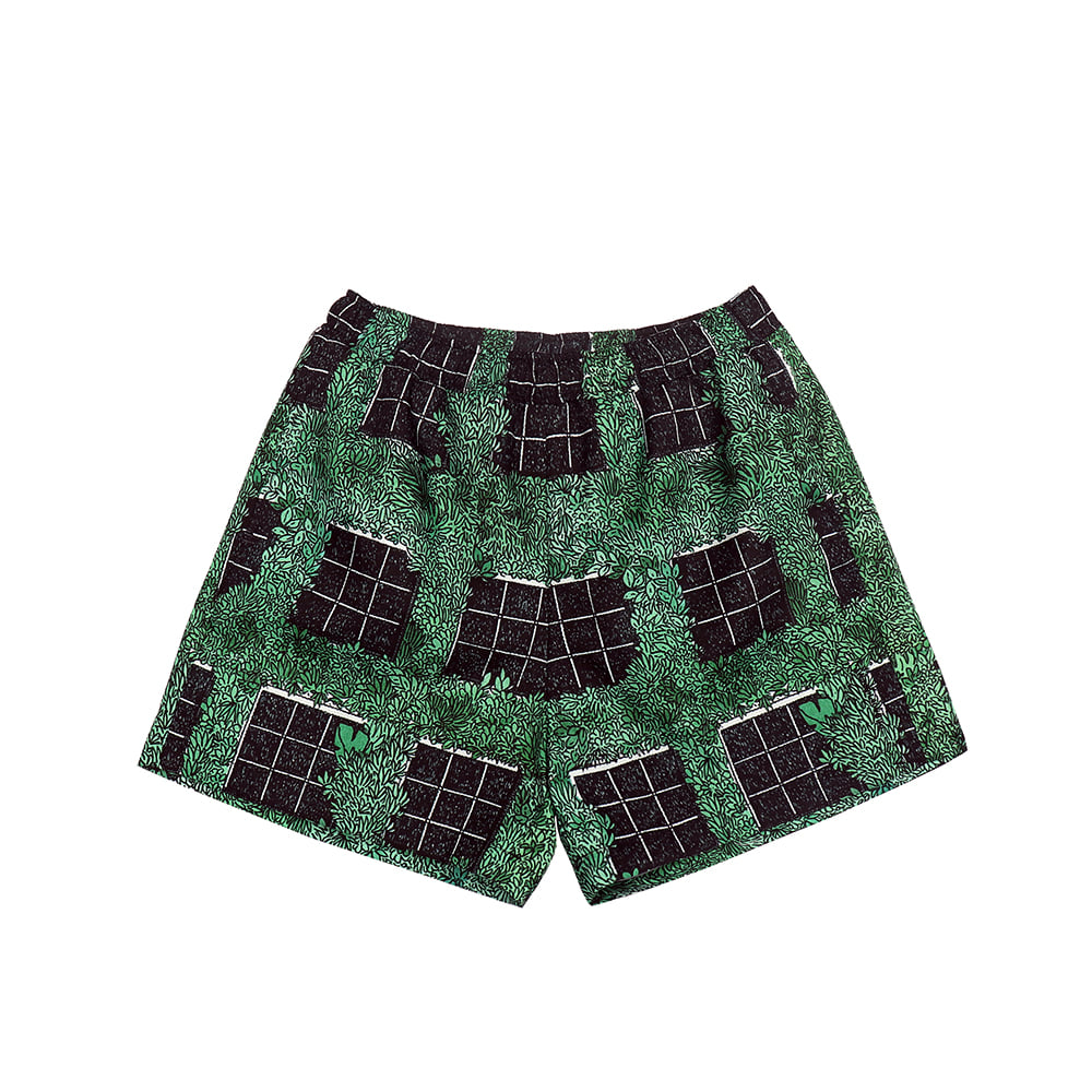 [SS18 Thibaud] Gongan Short Pants(Green) STEREO-SHOP