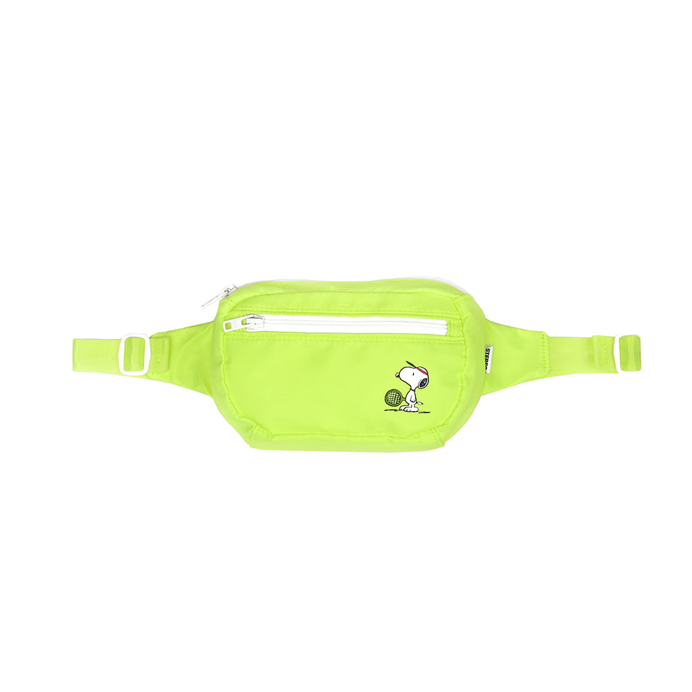 [SM18 Peanuts] Waist Bag(Green) STEREO-SHOP