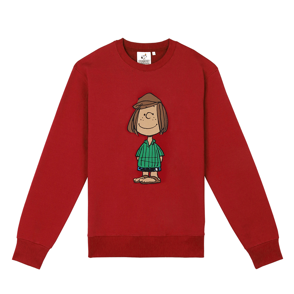 [FW18 Peanuts] Original Sweatshirts(Red) STEREO-SHOP