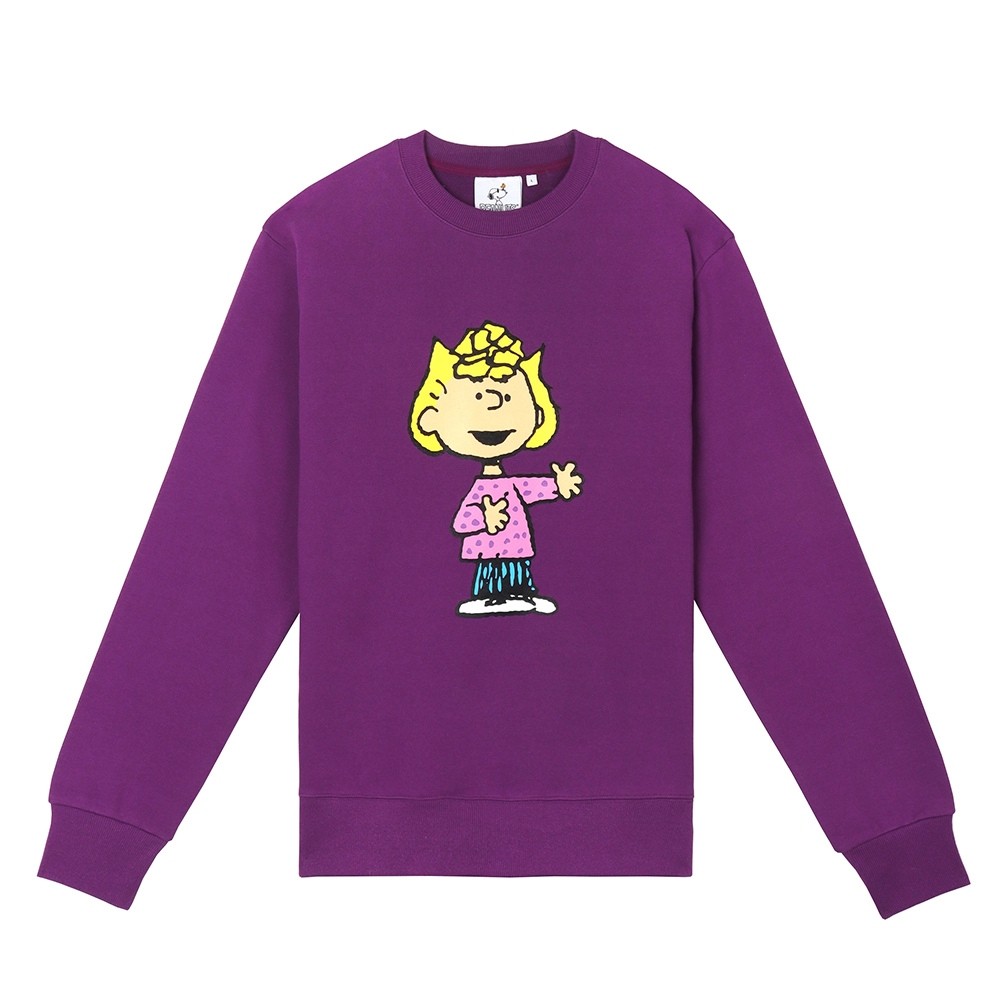 [FW18 Peanuts] Original Sweatshirts(Purple) STEREO-SHOP