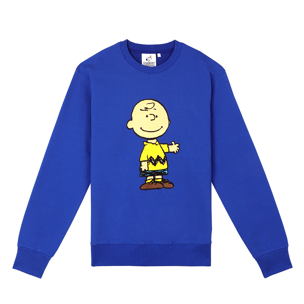 [FW18 Peanuts] Original Sweatshirts(Blue) STEREO-SHOP