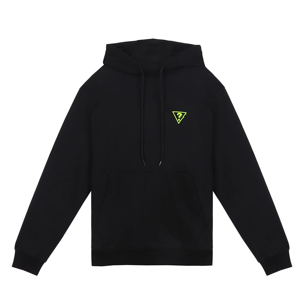 [18FW STEREO X GUESS] Logo Hoodie(Black) STEREO-SHOP
