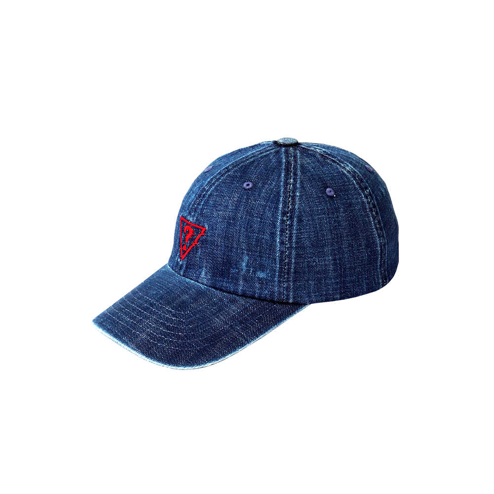 [18FW STEREO X GUESS] Logo Cap(Blue) STEREO-SHOP