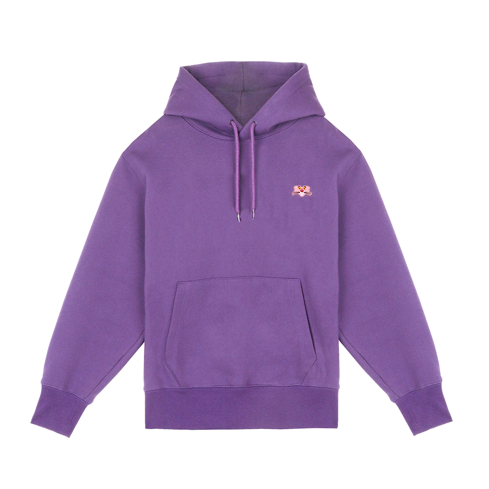 [FW18 Pink Panther] PP Face Hoodie(Lavender) STEREO-SHOP