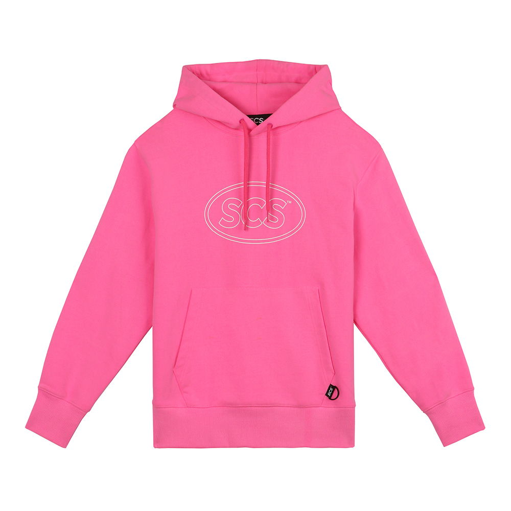 [FW18 SCS] Logo Hoodie(Pink) STEREO-SHOP